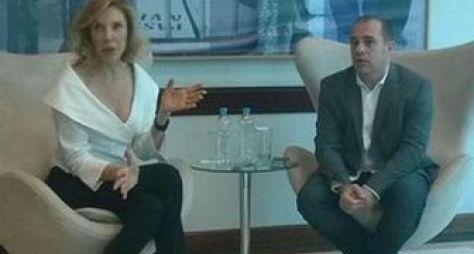 SBT convoca coletiva para anunciar saída de Marília Gabriela