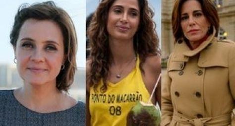 Conheça os perfis das três mulheres de Babilônia