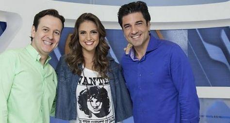 Chris Flores, Edu Guedes e Celso Zucatelli estariam negociando com a RedeTV!
