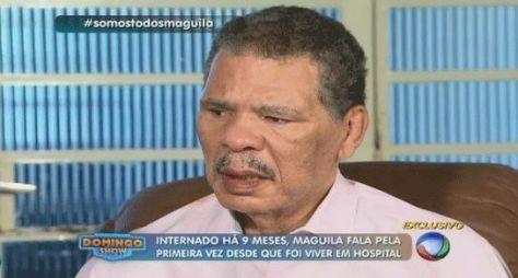 Entrevista exclusiva de Maguila não infla audiência do Domingo Show