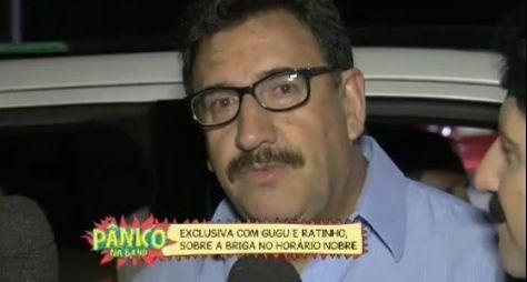 Ratinho diz que Gugu está fazendo baixaria na TV