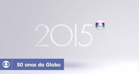 Globo divulga vídeos em comemoração a seus 50 anos