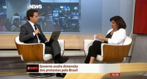 GloboNews bate recorde com cobertura de manifestações