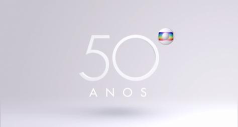 Globo lança nova campanha de seus 50 anos