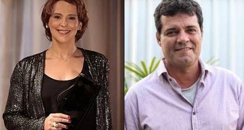 Ana Beatriz Nogueira e Felipe Camargo formarão um casal em Além do Tempo