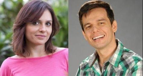 Monica Iozzi e Otaviano Costa apresentarão Vídeo Show ao vivo