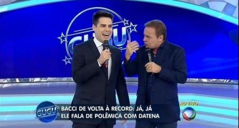 Record muda grade matutina com estreia de Bacci
