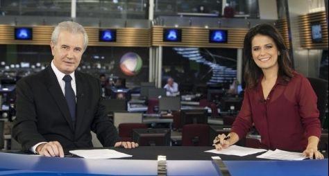 Em novo horário, Jornal da Record bate recorde de audiência