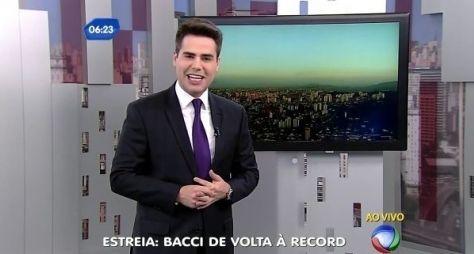 Luiz Bacci dobra a audiência da Record