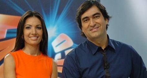 Patrícia Poeta e Zeca Camargo se unem em novo programa