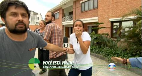 Reportagem da Globo consegue furo internacional na semana do aniversário