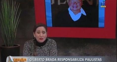 """""""É uma novela ruim"""", diz Sonia Abrão sobre Babilônia"""