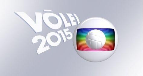 Jogos de vôlei registram boa audiência na Globo