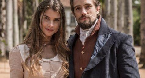 Rafael Cardoso e Alinne Moraes vivem amor proibido em Além do Tempo