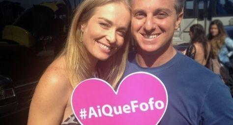 Luciano e Angélica saem em busca de histórias de amor no Caldeirão
