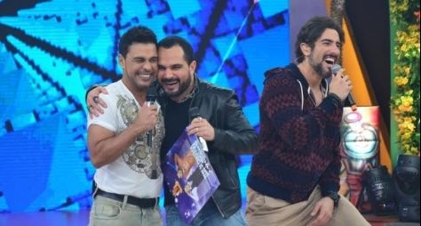 Zezé Di Camargo & Luciano fecha festa de cinco anos do Legendários