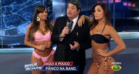 Band se decepciona com audiência da edição especial do Brasil Urgente