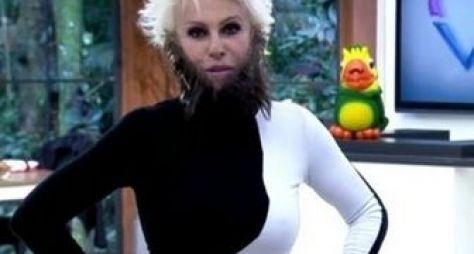 Ana Maria Braga surge de barba postiça no Mais Você
