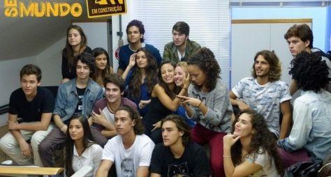 Globo reúne elenco da próxima Malhação Projac