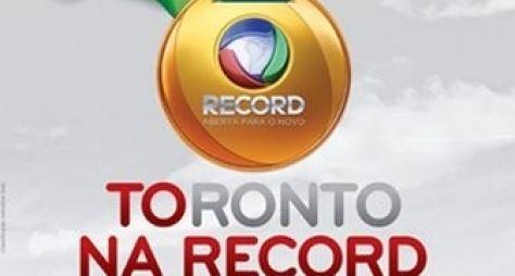 Transmissão do Pan prejudica audiência da Record