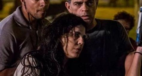 """Du Moscovis e Bárbara Paz gravam cenas de """"A Regra do Jogo"""""""