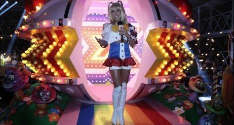 Patrícia Abravanel faz paródia de Xuxa no Máquina da Fama