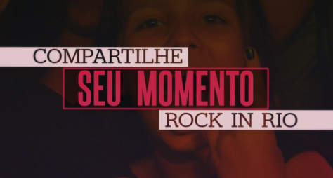 Globo aposta em chamadas interativas para 30 anos do Rock in Rio