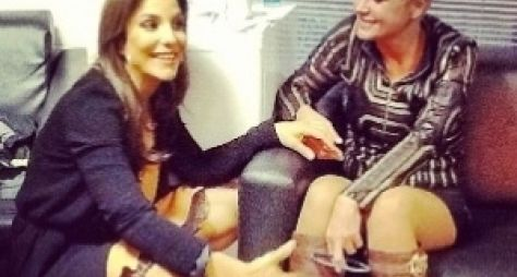 Ao vivo, Xuxa Meneghel recebe Ivete Sangalo no feriado