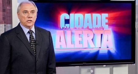 Cidade Alerta encosta na audiência do Jornal Nacional