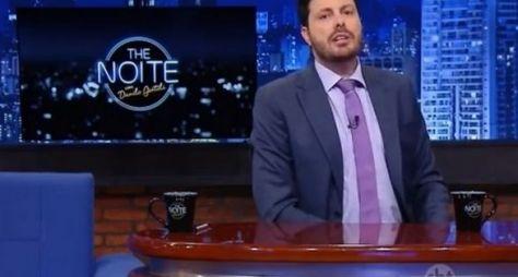 The Noite com Danilo Gentili perde mais uma vez para a Record