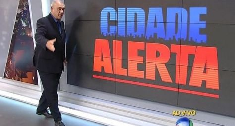 """""""Cidade Alerta, primeiro no coração brasileiro"""", comemora Marcelo Rezende"""
