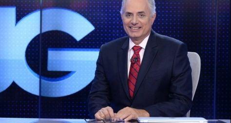 Globo opta por não alterar cenário e apresentador do Jornal da Globo