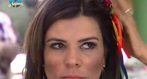 Te contei, não? Mara foi agredida na #afazenda (SQN)