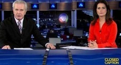 Jornal da Record registra recorde de audiência em 2015