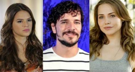 Bruna Marquezine, Daniel de Oliveira e Letícia Colin em triângulo amoroso