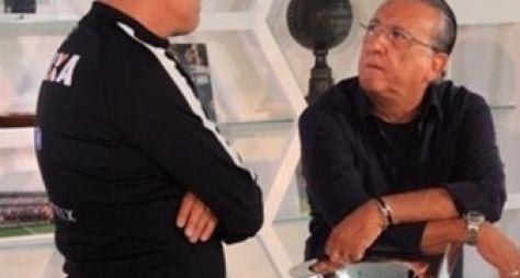 Galvão Bueno entrevista Tite para o Esporte Espetacular