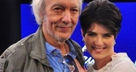Mariana Godoy recebe Erasmo Carlos nesta sexta
