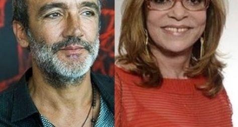 Rogerio Gomes e Gloria Perez
