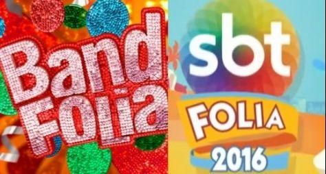 SBT e Band registram baixas audiências com Carnaval