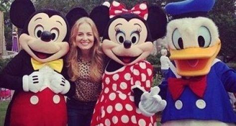 Angélica grava o Estrelas na Disney