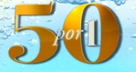 50 por 1 vira quadro do Domingo Espetacular