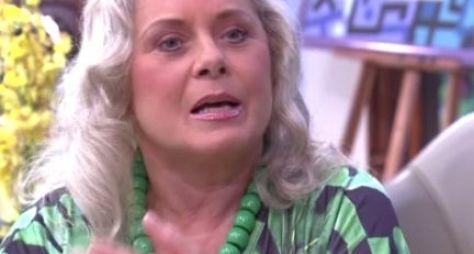 No Mais Você, Vera Fischer se emociona e diz querer retornar à teledramaturgia