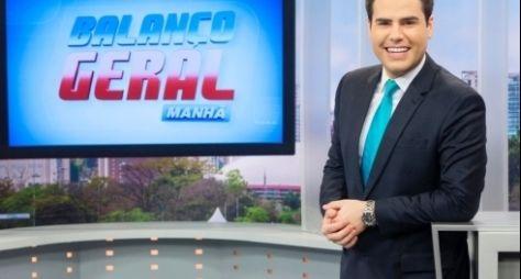 Telejornais apresentador por Luiz Bacci fazem milagres nas manhãs da Record