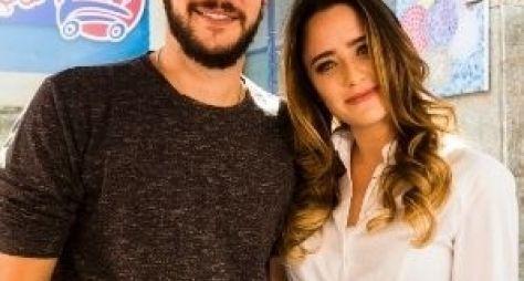 Jayme Matarazzo e Fernanda Vasconcellos gravam cenas de Haja Coração