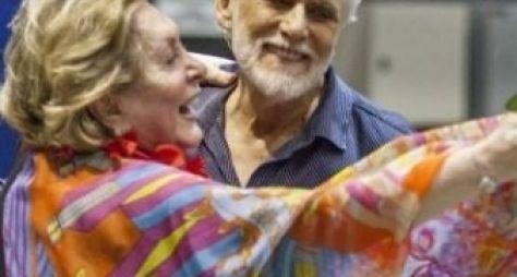 Aracy Balabanian e Francisco Cuoco serão casal em Sol Nascente