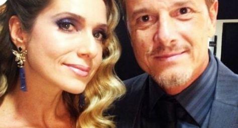 Sol Nascente: Letícia Spiller comenta par romântico com Marcello Novaes