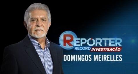 Domingos Meirelles vai fazer reportagens para o Domingo Espetacular
