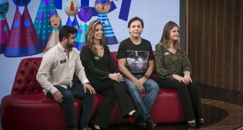 Tamanho Família recebe Fabiana Karla e Tom Cavalcante