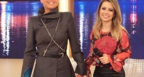 Com Sandy, Xuxa grava programa de aniversário na Record