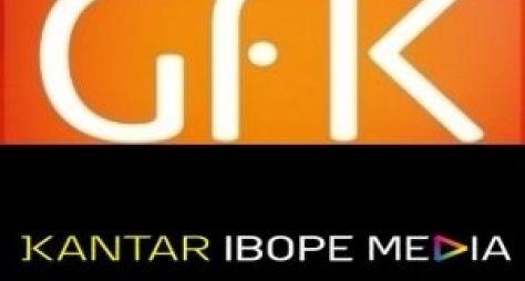Comparativo entre Gfk e Ibope mostra diferença de até 50% entre as medições